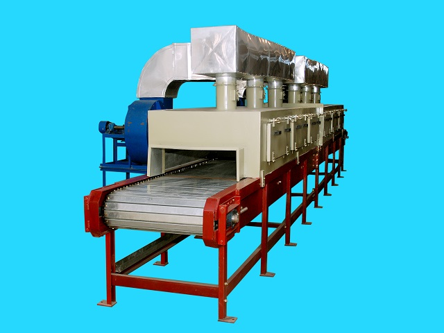 Quartz Tube Heaters Impregnation Plants With Infrared